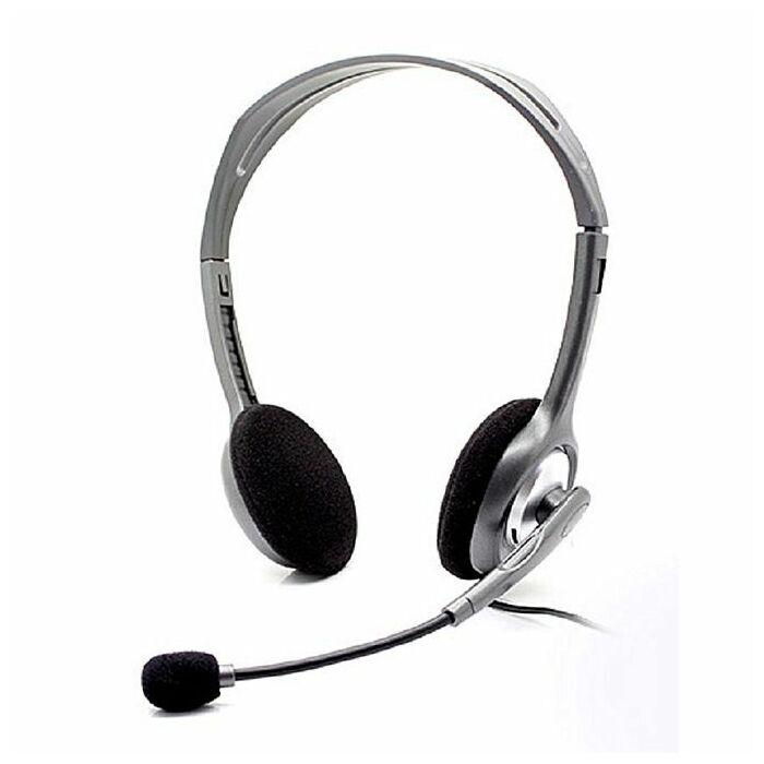 Logitech H110 Stereo Headset (Grey)