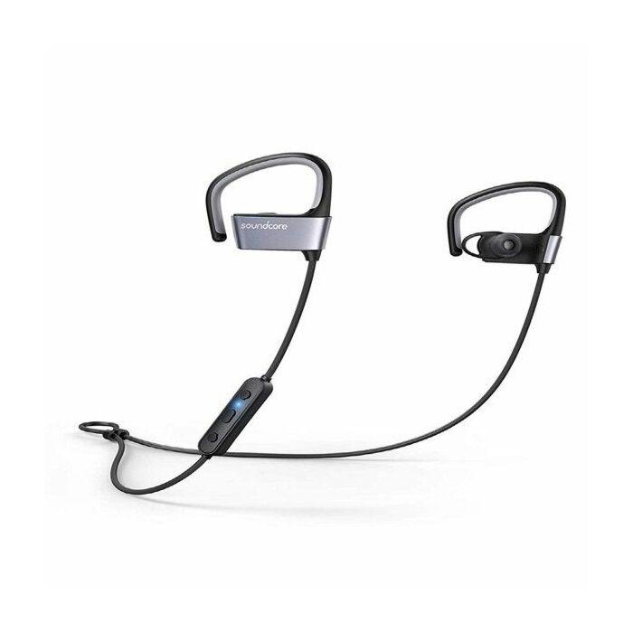 Anker Soundcore Arc-Gray Water Resistant Wireless Sport Earphones