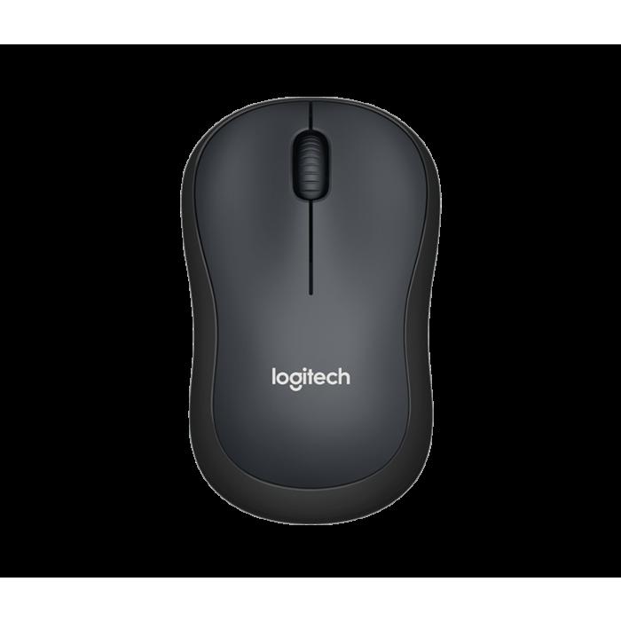 Logitech M221 Wireless Silent Mouse (Charcoal)