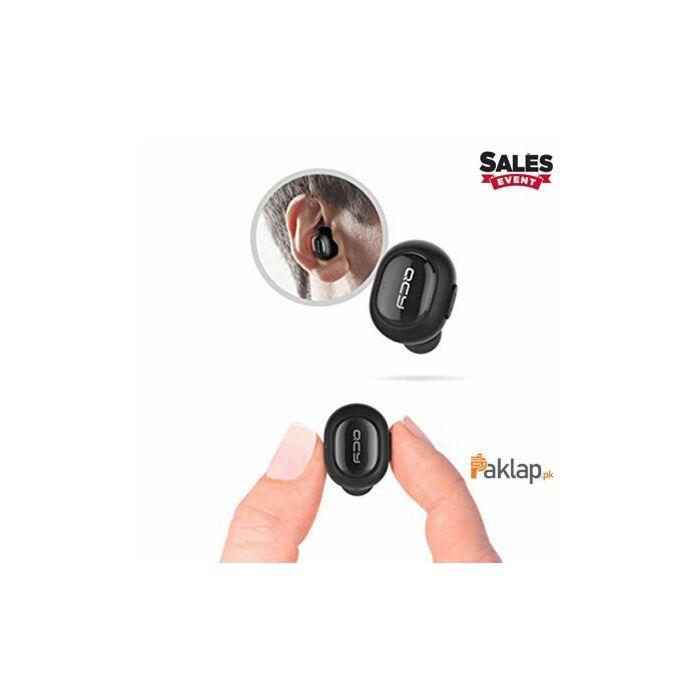 QCY Q26 Mono Fashion Super Mini In-Ear Universal Wireless Bluetooth 4.1 Headset (Black)