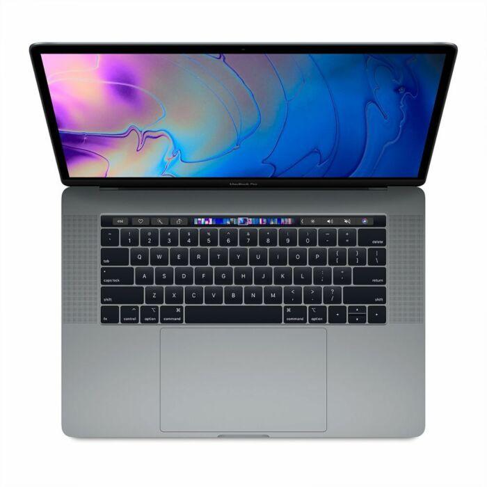 Apple MacBook Pro 15 MR932 With Touch Bar - 8th Gen Ci7 QuadCore 16GB 256GB SSD 4-GB Radeon Pro 555X GDDR5 15.6