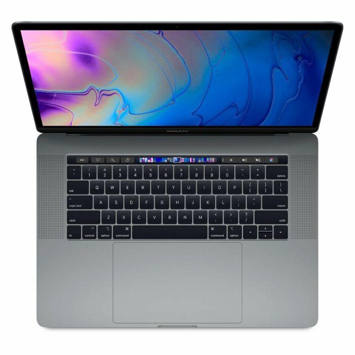 Apple MacBook Pro 15 MR942 With Touch Bar - 8th Gen Ci7 QuadCore 16GB 512GB SSD 4-GB Radeon Pro 560X GDDR5 15.6