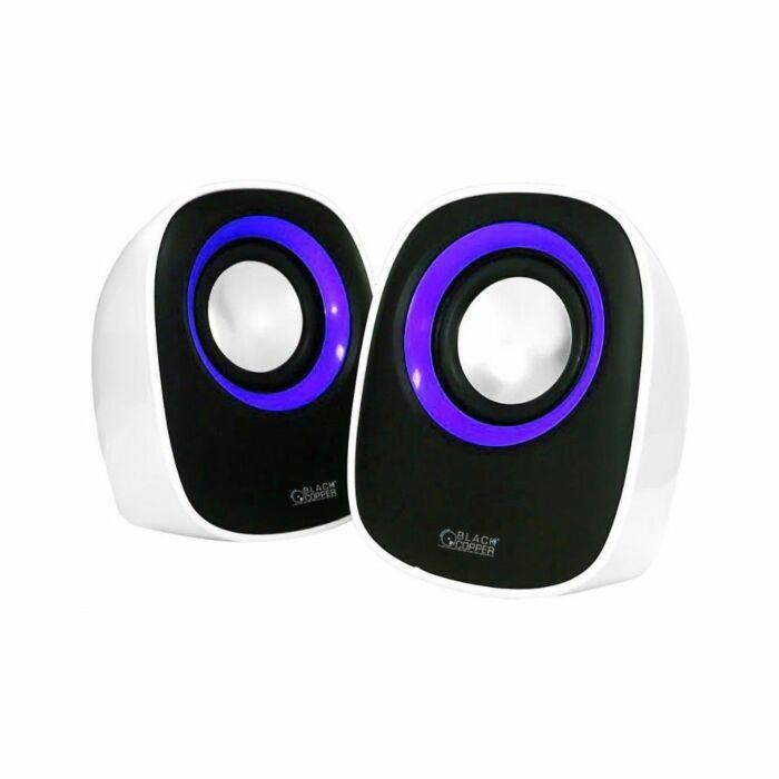 ND Black Copper Multimedia USB Speaker Crystal A7