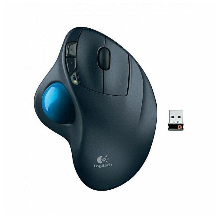 Logitech M570 Bluetooth Mouse (Black)