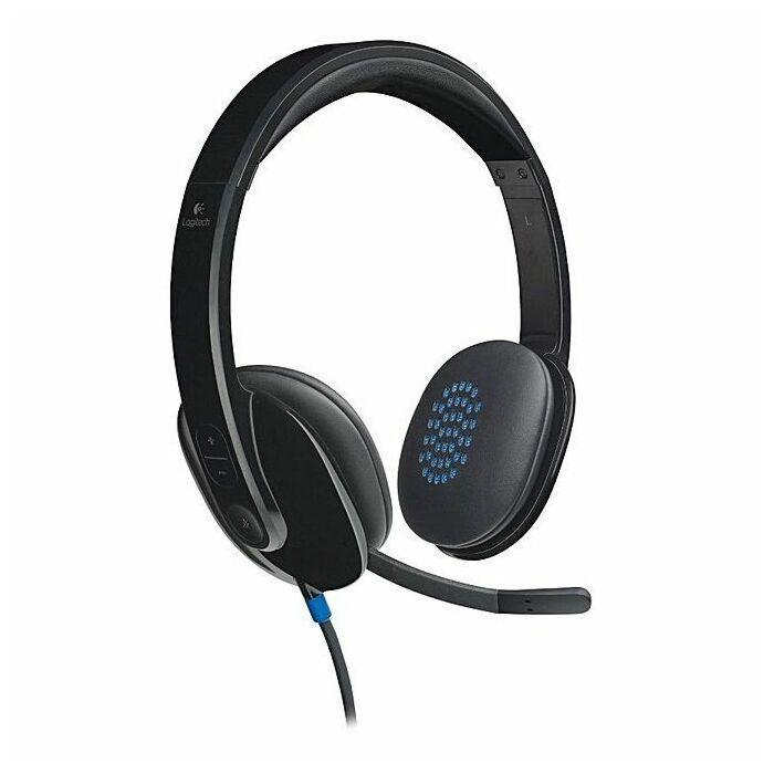 Logitech H540 USB Headset (Black)