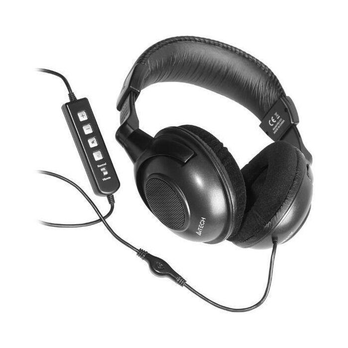A4TECH USB Headphone HU-111 (Mic in Line)