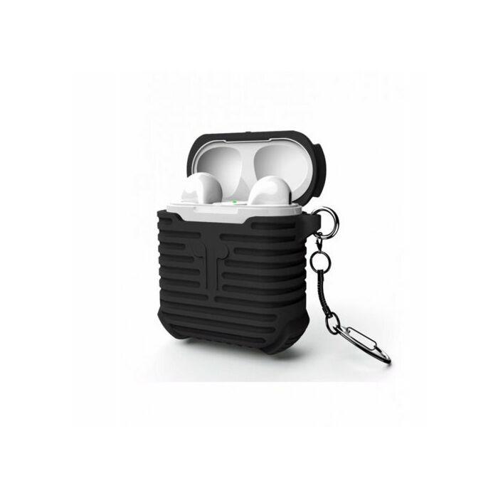 iSmile AirPods Silicon Protective Case (Black)