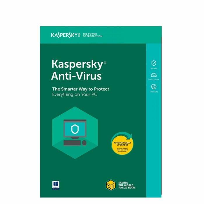Kaspersky Antivirus 2019 (2 User 1 year)