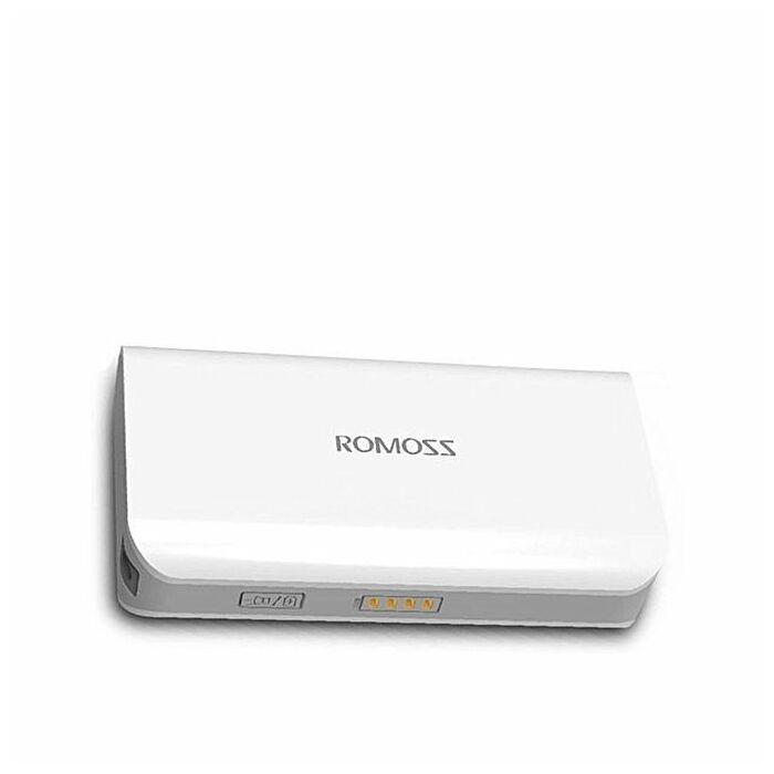 Romoss Sofun 10 15600 mAh Powerbank (White)