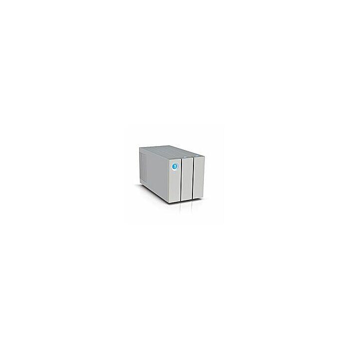LaCie 2big Thunderbolt2 8TB USB3 Speeds 4K Era Portable Hard Drive