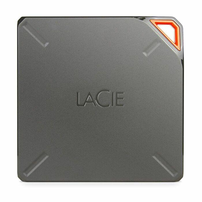 LaCie Fuel 2TB Portable WiFi USB  External Hard Drive (2.5