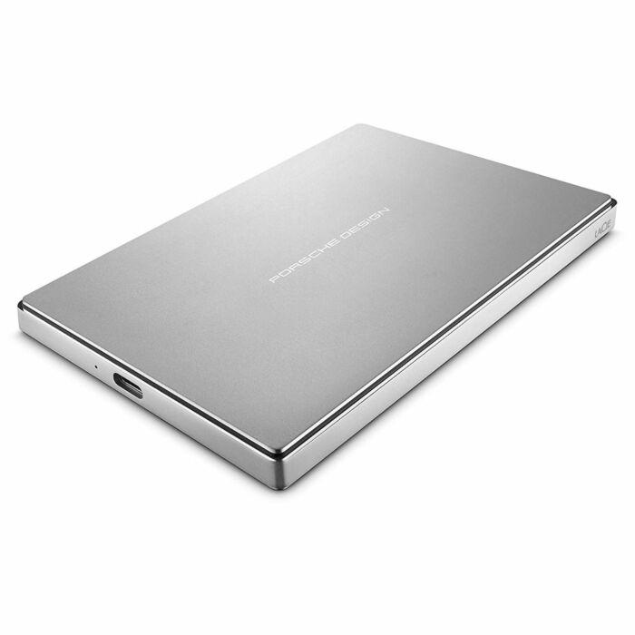 LaCie Porsche Design 2TB Portable External Hard Drive With USB-C (2.5