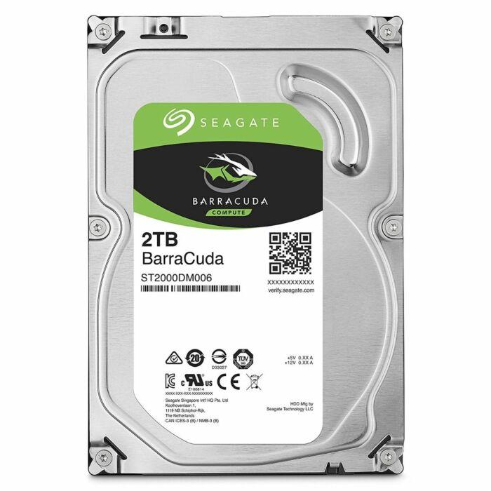 Seagate BarraCuda ST2000DM006 2TB 7200 RPM 64MB Cache SATA 6.0Gb/s 3.5