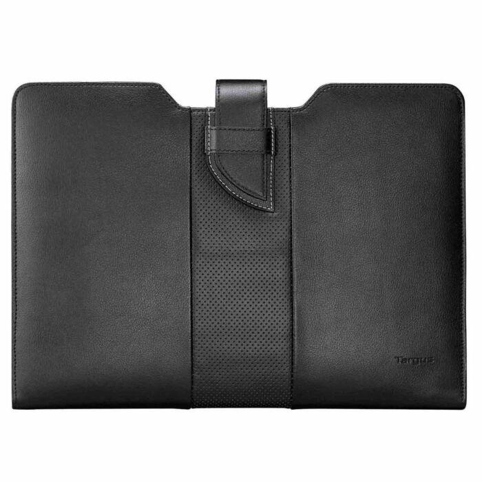 Targus TES606AP Luxury Leather Sleeve (Black) (13.3