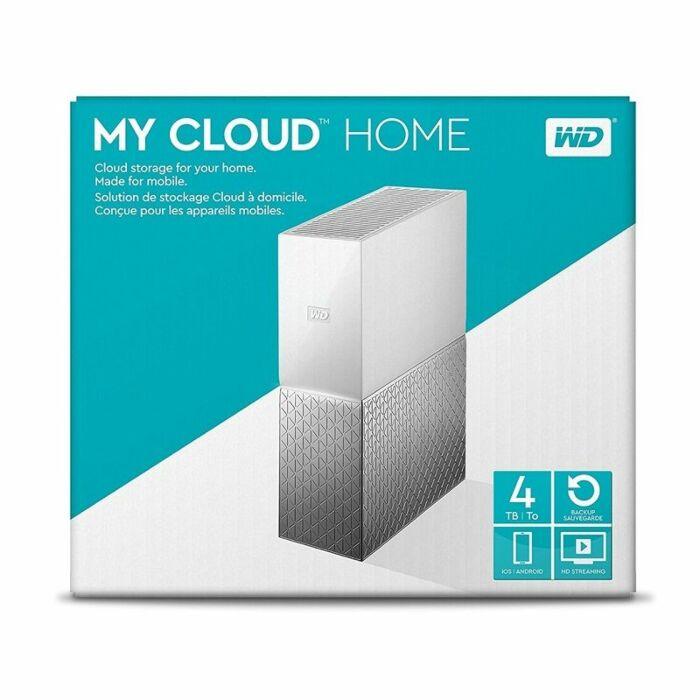 Western Digital 4TB My Cloud Home External Hard Drive
