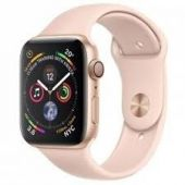 Apple Watch Series 4 MTV02 44mm Gold Aluminum Case With Pink Sand Sport Band (GPS+Cellular)