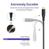 Tronsmart TAC03 3ft + 6ft Type-C to USB-A 3.0 Fast Charging & Syncing Cable