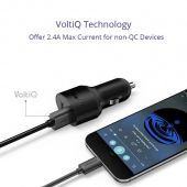 Tronsmart C2P 42W USB PD Car Charger with VoltiQ