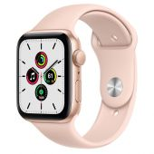 Apple Watch MYDR2 Series 6 44mm Gold Aluminum Case with Pink Sand Sport Band + GPS