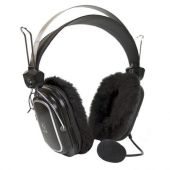 A4TECH HS-60 Seasonal Flam Headphone with Stick Mic - Black