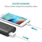 Anker Lightning iPhone Charging Cable - White