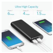 Anker PowerCore Speed 20000mAh Quick Charger 3.0 Power Bank  (Black)