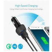 Anker PowerDrive Speed 2 Quick Car Charger (Black)