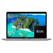 """Apple MacBook Pro 13"""" MYDA2 - Apple M1 Chip 08GB 256GB SSD 13.3"""" Retina IPS LED Display With True Tone Backlit Magic Keyboard & Touch ID & Force Touch TrackPad (Silver,  2020)"""
