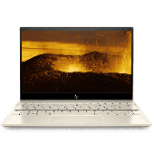 "HP Envy 13 AQ1044Tu Comet Lake - 10th Gen Core i7 QuadCore 08GB 256GB SSD 13.3"" Full HD IPS MicroEdge 1080p Touchscreen LED Backlit KB Win 10 B&O Quad Speakers (Gold, HP Direct Local Warranty)"