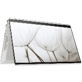"HP Spectre x360 Convertible 13 Ice Lake AW0013DX - 10th Gen Core i7 08GB 512GB SSD + 32GB Optane 13.3"" Full HD 1080p IPS MicroEdge x360 Touchscreen LED Backlit KB FP Reader B&O Play W10 (HP Active Pen & Sleeve Included, Natural Silver)"