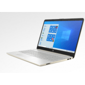 """HP 15 DW300 - Tiger Lake - 11th Gen Core i7 QuadCore 08GB 256GB SSD Intel Iris Xe Graphics 15.6"""" HD 720p Brightview 250nits Touchscreen LED Display FP Reader W10 (Pale Gold)"""