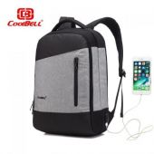 """Coolbell CB-504 Bag (Black with Grey) (15.6"""")"""