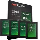"""HIKVISION SSD C100 Series 120GB or 480GB 2.5"""" SATA 6GB/s Solid State Drive (2 Years Warranty)"""