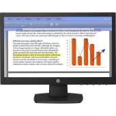 "HP LED Backlit Monitor V194 720p Black Widescreen (18.5"")"