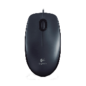 Logitech M90 Optical USB Mouse (Black)