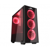Redragon SIDESWIPE GC601 Gaming Case Fan Included Tempered Glass