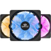 Redragon GC-F006 Computer Case PC Cooling Fan Pack Of 3