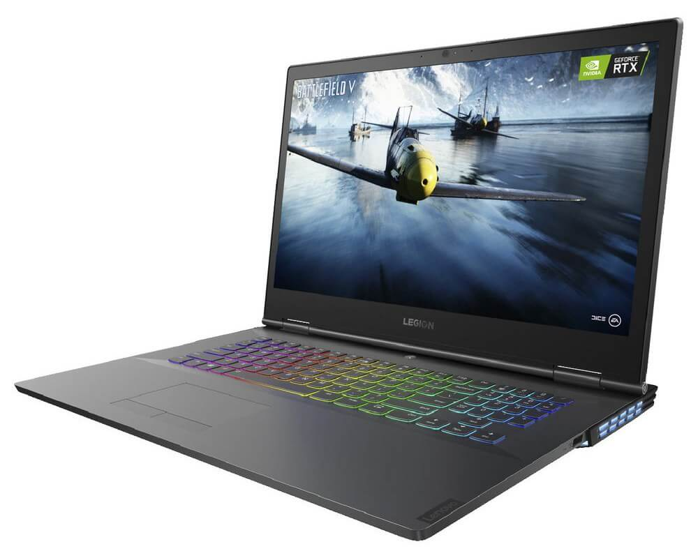 The New and Latest  Lenovo Legion Y740 17 - 8th Gen Ci7 HexaCore  Gaming Laptop