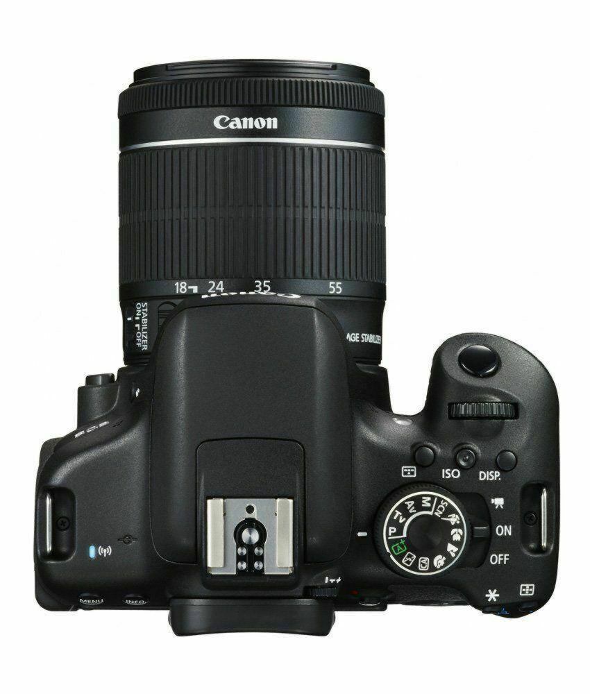 Canon EOS 750D 24 2MP DSLR Camera Black (Lens Options)
