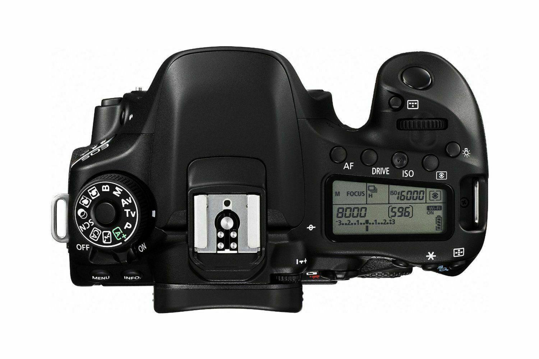 Canon EOS 80D 24 MP DSLR Camera Black (Lens Options)